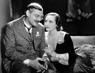 "Image of Lionel Barrymore and Joan Crawford in ""Grand Hotel,"" 1932."