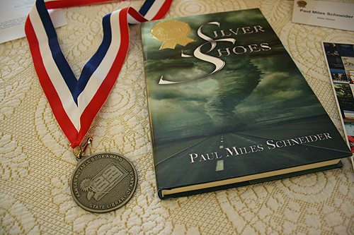 """Silver Shoes,"" a 2010 Kansas Notable Book."