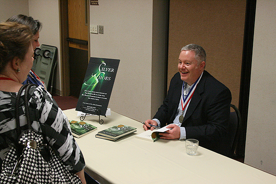 Paul Miles Schneider at the Kansas Library Association's 2011 Annual Convention.
