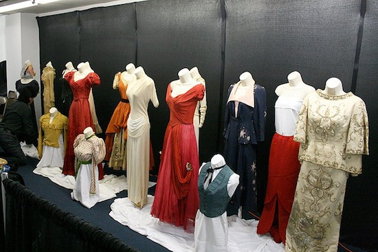 "Michael Siewert's collection of dresses worn by the legendary Judy Garland, on display at ""All Things Oz,"" the new museum and gift shop located on Genesee St. in downtown Chittenango, NY."