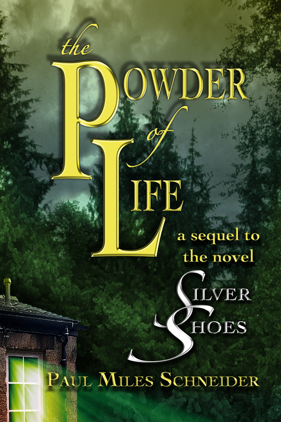 "12x18 poster art for ""The Powder of Life."""