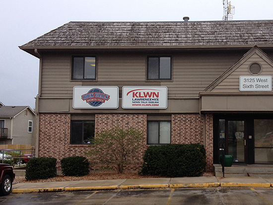 Radio Station KLWN AM 1320 in Lawrence, Kansas.
