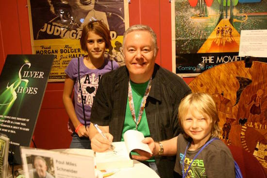 I think signing books for smiling, eager kids may be my favorite part of any festival. The young and the young at heart are why I do what I do. OZtoberFest 2014, Wamego, Kansas.