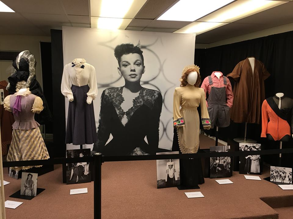 The brilliant collection of Judy Garland's screen-worn costumes on display at the All Things Oz Museum, during Oz-Stravaganza! 2016, courtesy of Jonathan Shirshekan.