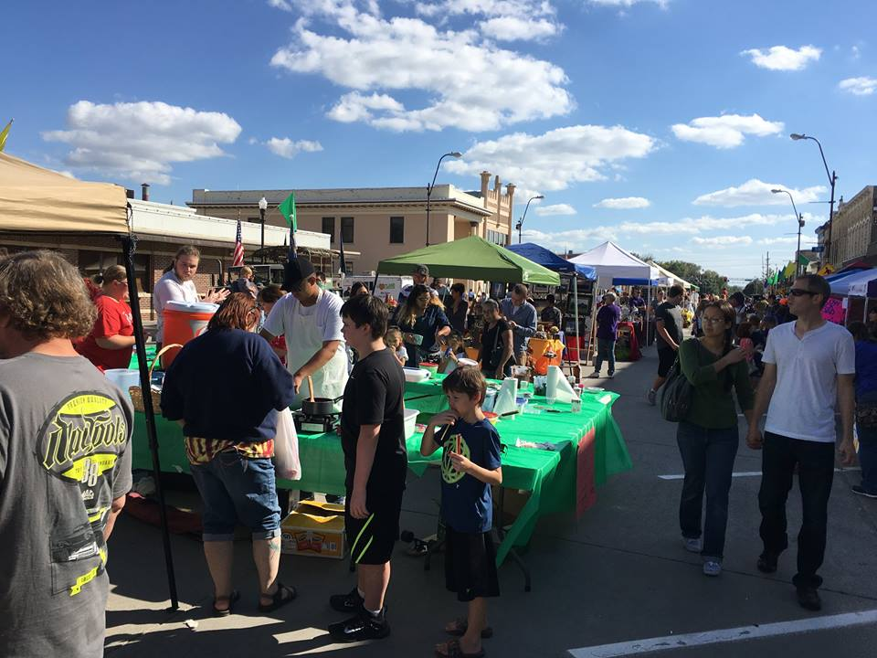 Record-breaking crowds turn out for OZtoberfest 2016 in Wamego, KS.