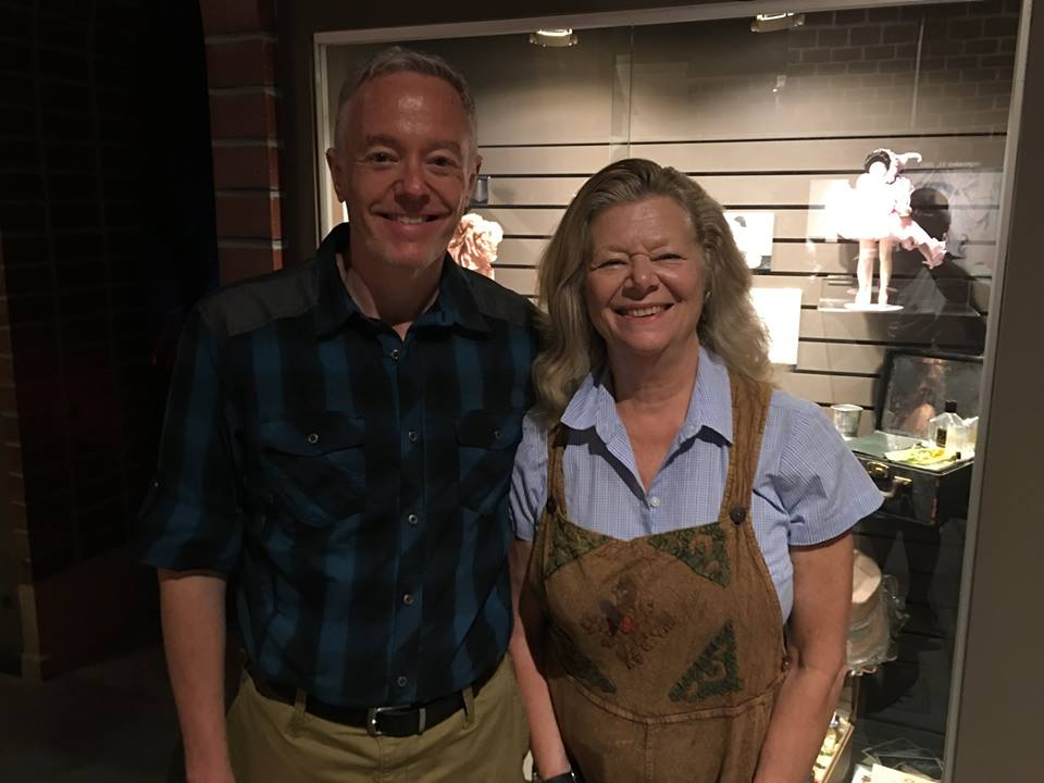 The highlight of OZtoberFest 2016 was meeting Jane Lahr, daughter of MGM's Cowardly Lion Bert Lahr. She was delightful, funny, kind, and beautiful in all respects.